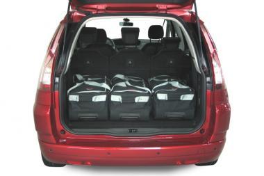 Car-Bags Citroën Grand C4 Picasso Reisetaschen-Set 2006-2013 | 3x86l + 3x54l
