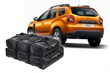 Car-Bags Dacia Duster 2 Reisetaschen-Set (4x4) ab 2017 | 3x63l + 3x43l