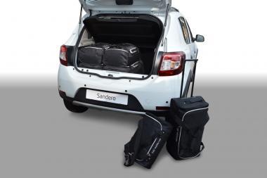 Car-Bags Dacia Sandero Reisetaschen-Set ab 2012 | 3x54l + 3x33l