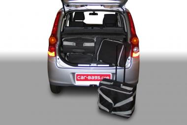 Car-Bags Daihatsu Cuore Reisetaschen-Set (L276) 2007-2012 | 2x45l + 2x25l