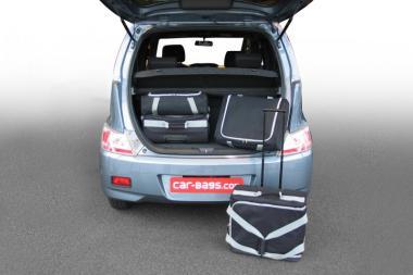 Car-Bags Daihatsu Materia Reisetaschen-Set 2007-2016 | 2x45l + 2x25l