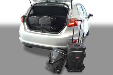 Car-Bags Ford Fiesta VII Reisetaschen-Set ab 2017 | 3x55l + 3x26l