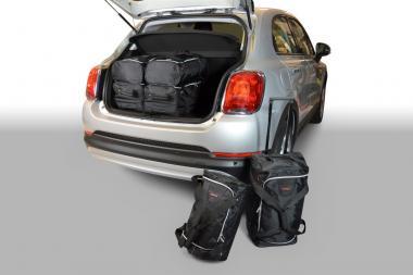 Car-Bags Fiat 500X Reisetaschen-Set ab 2015 | 3x47l + 3x29l