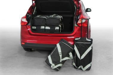 Car-Bags Ford Focus Reisetaschen-Set III ab 2011 | 3x49l + 3x34l