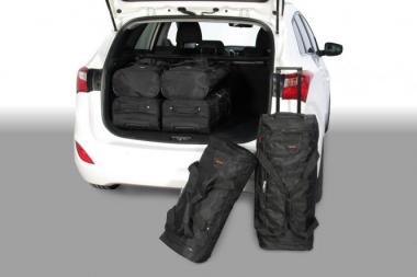 Car-Bags Hyundai i30 Reisetaschen-Set CW (GD) 2012-2017 | 3x63l + 3x43l