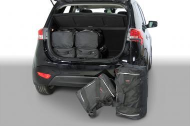 Car-Bags Hyundai ix20 Reisetaschen-Set ab 2010 | 3x62l + 3x35l