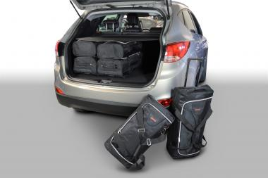 Car-Bags Hyundai ix35 Reisetaschen-Set (LM) 2010-2015 | 3x57l + 3x39l