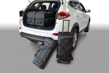Car-Bags Hyundai Tucson Reisetaschen-Set (TL) ab 2015 | 3x57l + 3x39l