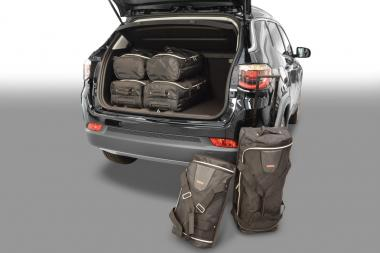 Car-Bags Jeep Compass Reisetaschen-Set (MP) ab 2017 | 3x52l + 3x30l