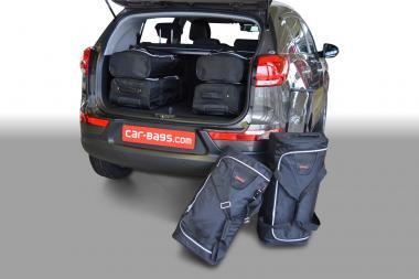 Car-Bags Kia Sportage Reisetaschen-Set III (SL) 2010-2010 | 3x46l + 3x29l