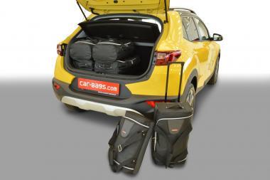 Car-Bags Kia Stonic Reisetaschen-Set (YB) ab 2017 (mit Ladeboden oben) | 3x47l + 3x29l