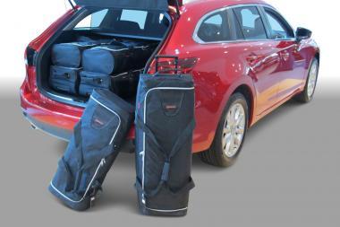 Car-Bags Mazda 6 Reisetaschen-Set (GJ) Sportbreak ab 2012 | 3x75l + 3x50l