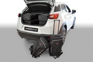 Car-Bags Mazda CX-3 Reisetaschen-Set ab 2015 | 3x47l + 3x29l