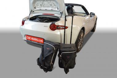 Car-Bags Mazda MX-5 Reisetaschen-Set (ND) ab 2015 | 2x38l + 1x19l