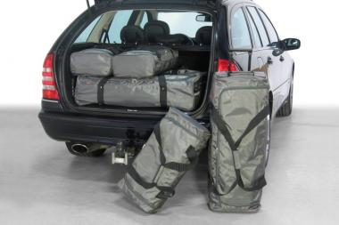 Car-Bags Mercedes-Benz C-Klasse estate Reisetaschen-Set (S203) 2001-2007 | 3x69l + 3x37l