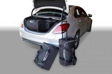 Car-Bags Mercedes-Benz C-Klasse Plug-In Hybrid Reisetaschen-Set (W205) ab 2015 | 3x49l + 2x54l