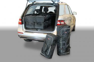 Car-Bags Mercedes-Benz GLE / ML / M-Klasse Reisetaschen-Set (W166) ab 2011 | 3x77l + 3x59l