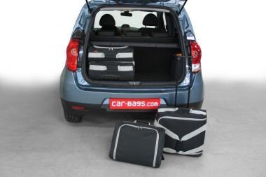 Car-Bags Mitsubishi Colt Reisetaschen-Set (Z30) facelift 2009-2013   2x45l + 2x25l