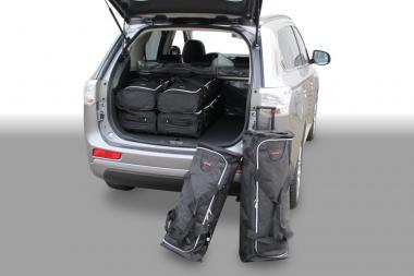 Car-Bags Mitsubishi Outlander Reisetaschen-Set PHEV ab 2013 | 3x58l + 3x38l