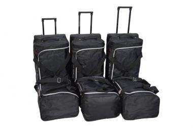 Car-Bags Nissan Qashqai Reisetaschen-Set +2 (J10) 2009-2014 | 3x63l + 3x44l