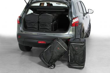 Car-Bags Nissan Qashqai Reisetaschen-Set (J10) inkl. facelift 2007-2013 | 3x63l + 3x40l