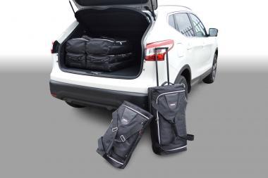 Car-Bags Nissan Qashqai Reisetaschen-Set (J11) ab 2014 | 3x52l + 3x37l
