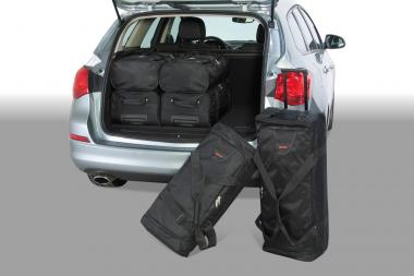 Car-Bags Opel Astra J Reisetaschen-Set Sports Tourer 2010-2016 | 3x70l + 3x48l