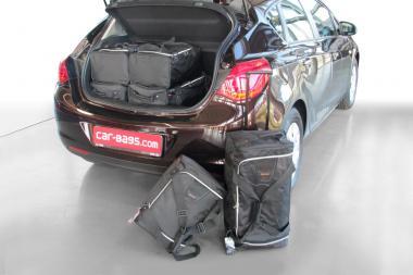 Car-Bags Opel Astra J Reisetaschen-Set 5T 2009-2015   3x62l + 3x35l