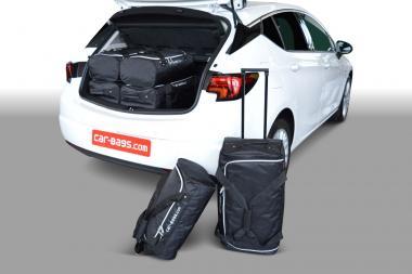 Car-Bags Opel Astra K Reisetaschen-Set ab 2015 | 3x54l + 3x33l