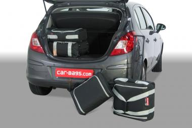 Car-Bags Opel Corsa D Reisetaschen-Set 2006-2014 | 2x45l + 2x25l