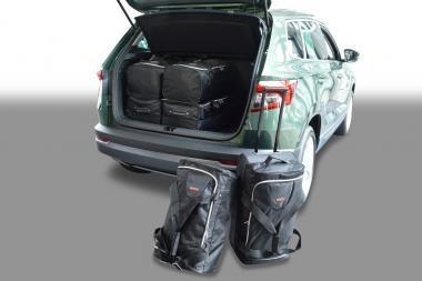 Car-Bags Skoda Karoq Reisetaschen-Set ab 2017 (tiefer Ladeboden) | 3x69l + 3x47l