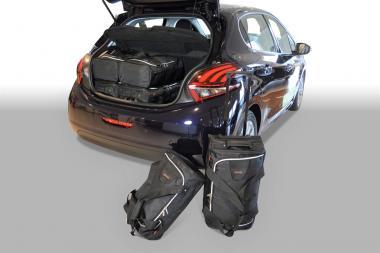 Car-Bags Peugeot 208 Reisetaschen-Set ab 2012 | 3x47l + 3x29l
