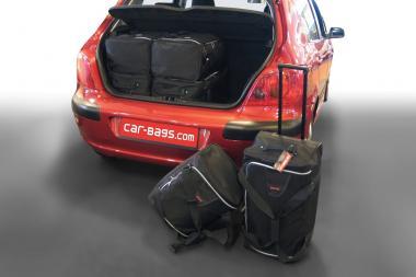 Car-Bags Peugeot 307 Reisetaschen-Set 2001-2007 | 3x62l + 3x35l