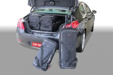 Car-Bags Peugeot 508 Reisetaschen-Set HYbrid4 ab 2012 | 3x63l + 3x44l
