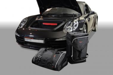 Car-Bags Porsche 911 Reisetaschen-Set (991) ab 2011 (2WD Links-/Rechtslenker + 4WD nur Linkslenker)   1x65l + 1x48l