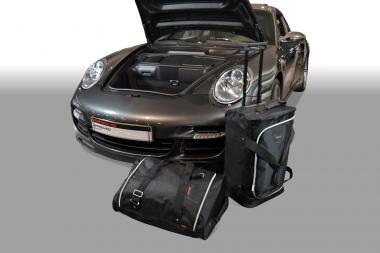 Car-Bags Porsche 911 Reisetaschen-Set (997) 2004-2012 (2WD ohne CD-Wechsler im unteren Laderaum) | 1x57l + 1x48l