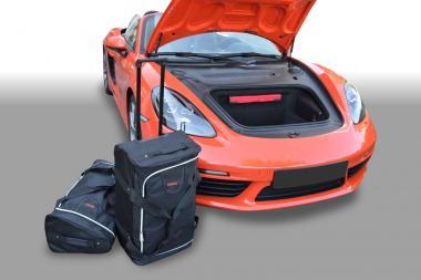 Car-Bags Porsche Cayman / Boxster Reisetaschen-Set (718) ab 2016 (2WD + 4WD) | 1x65l + 1x48l