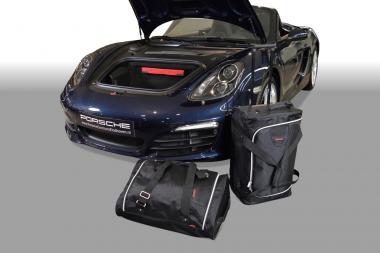 Car-Bags Porsche Cayman / Boxster Reisetaschen-Set (981) 2012-2016 (2WD + 4WD) | 1x65l + 1x48l