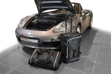 Car-Bags Porsche Cayman / Boxster Reisetaschen-Set (987) 2004-2012 (2WD + 4WD mit CD-Wechsler) | 1x45l + 1x41l