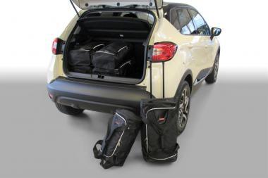 Car-Bags Renault Captur Reisetaschen-Set ab 2014 | 3x47l + 3x29l