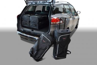 Car-Bags Renault Clio Reisetaschen-Set IV Estate/Grandtour ab 2013 | 3x57l + 3x39l