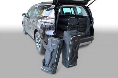 Car-Bags Renault Espace Reisetaschen-Set V ab 2015 | 3x83l + 3x54l