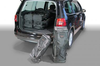 Car-Bags Seat Alhambra Reisetaschen-Set II (7N) ab 2010 | 3x88l + 3x47l