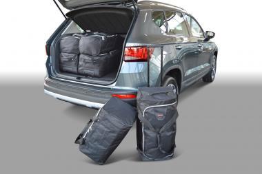 Car-Bags Seat Ateca Reisetaschen-Set ab 2016 (hoher Ladeboden) | 3x60l + 3x37l