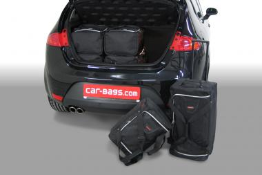 Car-Bags Seat Leon Reisetaschen-Set (1P) 2005-2012 | 3x62l + 3x35l