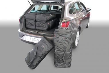 Car-Bags Seat Leon Reisetaschen-Set ST (5F) ab 2014 | 3x63l + 3x43l