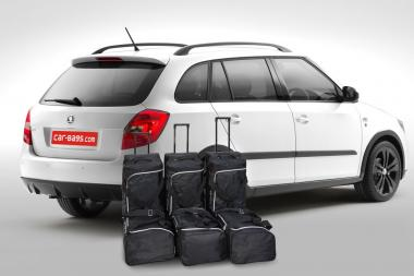 Car-Bags Skoda Fabia Reisetaschen-Set II (5J) Combi 2007-2014 | 3x79l + 3x45l