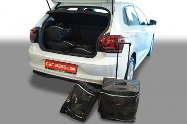 Car-Bags Volkswagen Polo VI Reisetaschen-Set (AW) 5T ab 2017 | 2x62l + 3x27l
