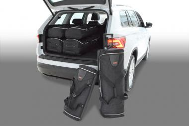 Car-Bags Skoda Kodiaq Reisetaschen-Set ab 2017 (7 Sitze) | 3x82l + 3x42l