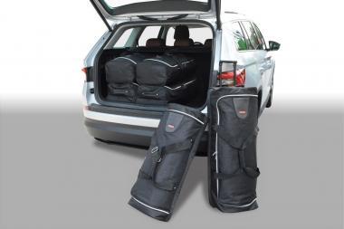 Car-Bags Skoda Kodiaq Reisetaschen-Set ab 2017 (5 Sitze) | 3x91l + 3x63l